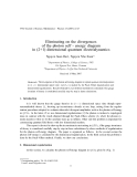 "Báo cáo ""Eliminating on the divergences of the photon self - energy diagram in (2+1) dimensional quantum electrodynamics  """