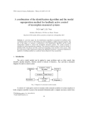 """Báo cáo """" A combination of the identification algorithm and the modal superposition method for feedback active control of incomplete measured systems """""""