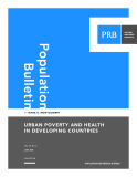 Urban Poverty and Health  in developing Countries