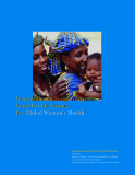 Innovations in Supporting Local Health Systems for Global Women's Health