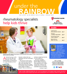 Rheumatology specialists  help kids thrive