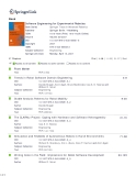 Software Engineering for Experimental RoboticsBook Series Publisher ISSN Volume