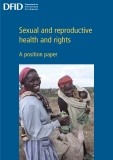 Sexual and reproductive health and rights: A position paper