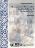 ADOLESCENTS AND REPRODUCTIVE HEALTH  IN PAKISTAN: A LITERATURE REVIEW