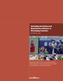 Schooling and Adolescent Reproductive Behavior in Developing Countries