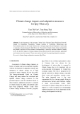 "Báo cáo ""Climate change impacts and adaptation measures for Quy Nhon city """