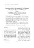 "Báo cáo "" A numerical model for the simulation of wave dynamics   in the surf zone and near coastal structures  """