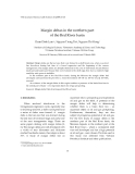 """Báo cáo """"  Margin deltas in the northern part of the Red River basin """""""