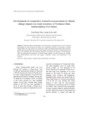 "Báo cáo ""Development of cooperative research on assessment of climate change impacts on water resources of Vietnam-China transboundary river basins """