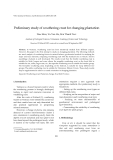 "Báo cáo ""  Preliminary study of weathering crust for changing plantation  """