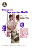 DRINKING AND REPRODUCTIVE HEALTH
