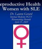 Reproductive health in male  systemic lupus erythematosus