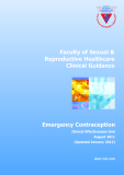 Emergency Contraception: Clinical Effectiveness Unit