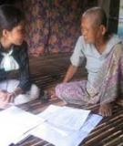 Older Persons in Cambodia: A Profile from the 2004 Survey of Elderly