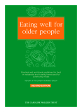 Eating well for older people: Practical and nutritional guidelines for food  in residential and nursing homes and for community meals
