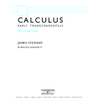 stewart calculu early transcendentals 6e hq thomson 2008