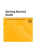 Getting Started Guide For Peachtree Complete Accounting 7.0