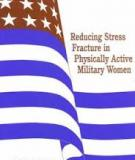 Reducing Stress Fracture in Physically Active Military Women