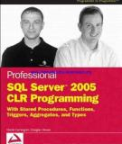 Professional SQL Server™ 2005 CLR Programming with Stored Procedures, Functions, Triggers, Aggregates, and Types