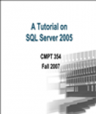 A Tutorial on SQL Server 2005