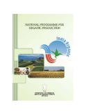 NATIONAL PROGRAMME FOR ORGANIC PRODUCTION