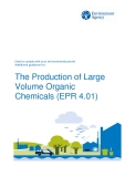 The Production of Large  Volume Organic  Chemicals (EPR 4.01)