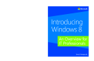 Introducing Windows 8  - An Overview for IT Professionals Jerry Honeycutt