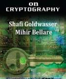 Lecture Notes on Cryptography