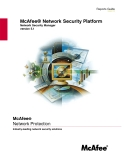 McAfee® Network Protection: Industry-leading network security solutions