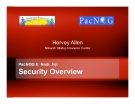 PacNOG 6: Nadi, Fiji Security Overview
