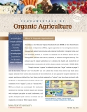 FUNDAMENTALS OF Organic Agriculture