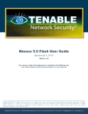 Nessus 5.0 Flash User Guide