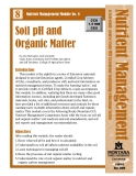 Soil pH and Organic Matter