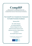 The CompHP Core Competencies Framework  for Health Promotion Handbook