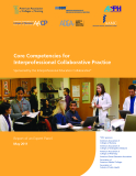 Core Competencies for   Interprofessional Collaborative Practice