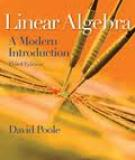 Answers to Exercises Linear Algebra