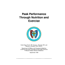 Peak Performance Through Nutrition and Exercise