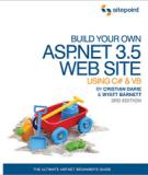 Build Your Own ASP.NET 3.5 Web Site Using C# & VB, 3rd Edition