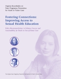 Fostering Connections: Improving Access to Sexual Health Education