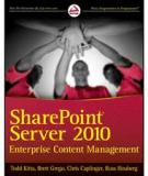 SHAREPOINT® SERVER 2010 ENTERPRISE CONTENT MANAGEMENT