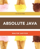 ABSOLUTE JAVA™ 5 th Edition