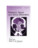 PEDIATRIC NASAL AND SINUS DISORDERS