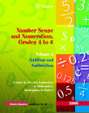 Number Sense and Numeration, Grades 4 to 6 Volume 2 Addition and Subtraction