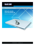 Physical Network Security: Network security   from the bottom up