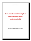"Đề tài ""  A C2-smooth counterexample to the Hamiltonian Seifert conjecture in R4 """