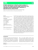 Báo cáo khoa học: K182G substitution in DevR or C8G mutation in the Dev box impairs protein–DNA interaction and abrogates DevR-mediated gene induction in Mycobacterium tuberculosis