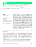 Báo cáo khoa học: Glutamine stimulates the gene expression and processing of sterol regulatory element binding proteins, thereby increasing the expression of their target genes