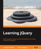 Learning jQuery: Better Interaction Design and Web Development with Simple JavaScript Technique