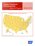 Cancer Treatment & Survivorship Facts & Figures 2012-2013