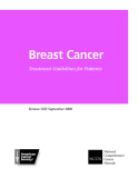 BREAST CANCER - TREATMENT GUIDELINES FOR PATIENTS